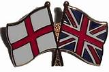 english and union flags